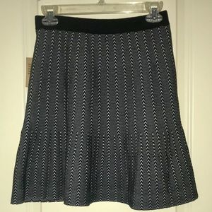 NWT RACHEL Rachel Roy Black & White Skirt Size M